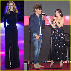 Martina Stoessel & Jorge Blanco Perform At 'Tini' Rome Premiere - Watch Now!
