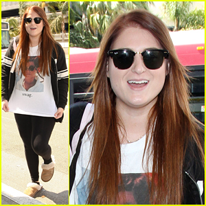 Meghan Trainor Shows Off Her 'Swag' With Funny Shirt