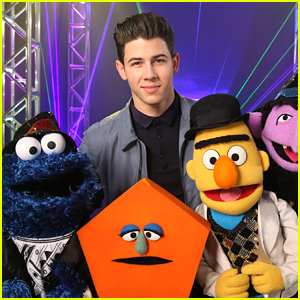 Nick Jonas Sings 'Check That Shape' on 'Sesame Street' - Watch!