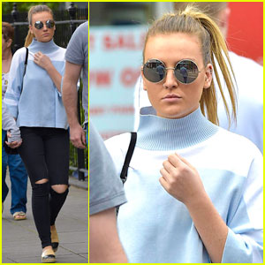 Perrie Edwards Goes on London Shopping Spree With Her Sister!