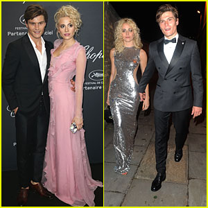 Pixie Lott & Oliver Cheshire Hit Two Parties In Two Cities