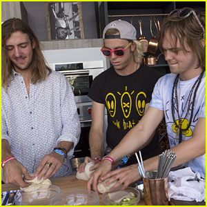 R5 Take Over The Culinary Stage at BottleRock Napa 2016
