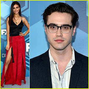 Victoria Justice & Ryan McCartan Premiere the 'Rocky Horror' Trailer at Fox Upfront!