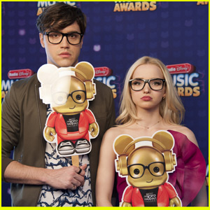 Dove Cameron, Ryan McCartan & Sabrina Carpenter Try To 'Twin' With Ardy at the RDMA 2016
