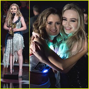 Sabrina Carpenter Thanks Her Fans After Winning at RDMA 2016