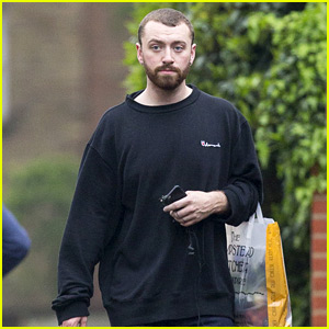 Sam Smith Steps Out for Casual Stroll in London