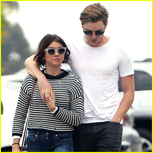 Sarah Hyland Reunites With Dominic Sherwood After Wrapping 'Dirty Dancing'