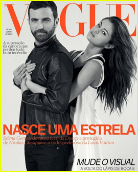 Selena Gomez Stuns on the Cover of 'Vogue Brazil'