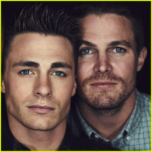 Colton Haynes' Coming Out Gets Big Support from Stephen Amell!