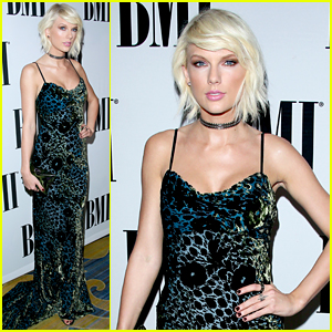 Taylor Swift Accepts the Taylor Swift Award at BMI Pop Awards!