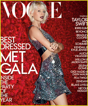 Taylor Swift Graces Cover of 'Vogue' Magazine's Special Met Gala 2016 Issue