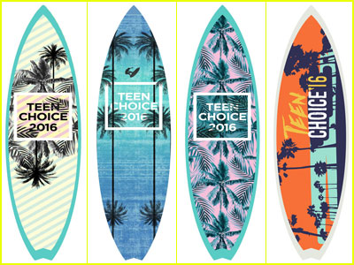 Choose the Surfboard Design for Teen Choice Awards 2016! (Exclusive First Look!)