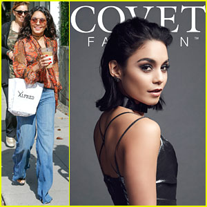 Vanessa Hudgens Dishes on Hosting Covet Fashion App