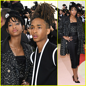 Willow & Jaden Smith Are Stunning Siblings at Met Gala 2016