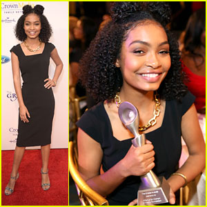 Yara Shahidi Honored at Gracies Awards Gala 2016