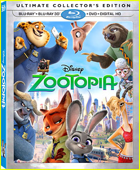 'Zootopia' Is Out on Blu-Ray & Digital HD June 7th!