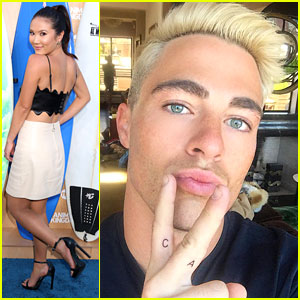 Colton Haynes Gets Tattoo In Honor of BFF Ally Maki for National Best Friends Day