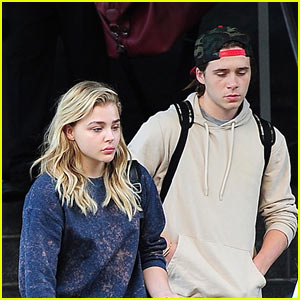 Chloe Moretz Shares Adorable Pic of Boyfriend Brooklyn Beckham Napping!