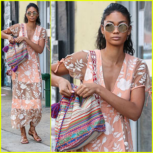 Chanel Iman Says Flowy Dresses Are The Best Summer Fashion Staple