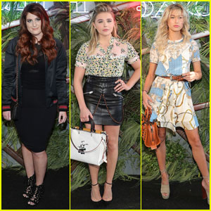 Meghan Trainor Hits Up Coach Event in NYC With Pal Chloe Moretz