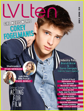 Corey Fogelmanis is Super Cute on New 'LVLten' Magazine Cover!