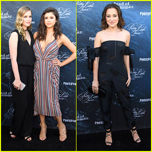Elizabeth Lail & Zelda Williams Premiere Their New Show 'Dead of Summer' in Hollywood