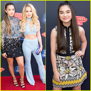 Disney Channel Stars Step Out to Watch the 100th DCOM!