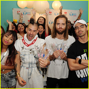 DNCE Parties at Cupcake & Toothbrush Event