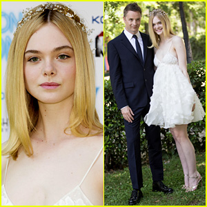 Elle Fanning Is So Stylish for 'Neon Demon' in Rome!