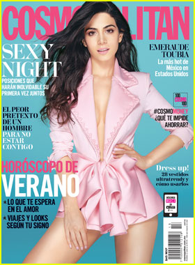 Emeraude Toubia is One 'Fearless Female' for 'Cosmopolitan Mexico' Cover!