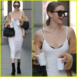 Gigi Hadid Plays Mom in 'Versace' Fall/Winter Film