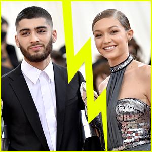 Zayn Malik & Gigi Hadid Reportedly Break Up