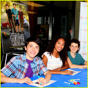 Sloane Siegel & 'Gortimer Gibbon's Life on Normal Street' Cast Hold Fan Screening