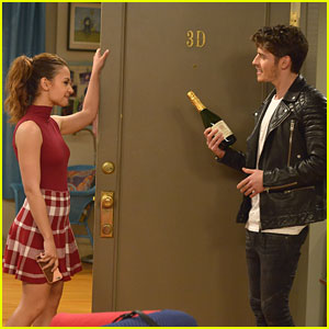 FIRST LOOK: Gregg Sulkin Annoys The Heck Out of Aimee Carrero on 'Young & Hungry'