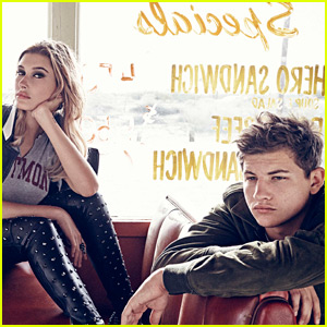 Hailey Baldwin & Tye Sheridan Team Up for 'Esquire' Shoot