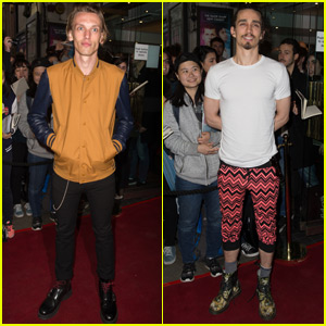 Jamie Campell Bower Reunites With 'City of Bones' Co-Star Robert Sheehan