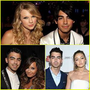 Taylor Swift, Gigi Hadid, & Demi Lovato Are All Newly Single & All Dated Joe Jonas!