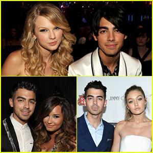 Taylor Swift, Gigi Hadid, & Demi Lovato Are All Newly Single & All Dated Joe Jonas!