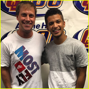 Jordan Fisher Performs 'All I Wanna Do' on 'The Adam Bomb Show' - Watch Now!