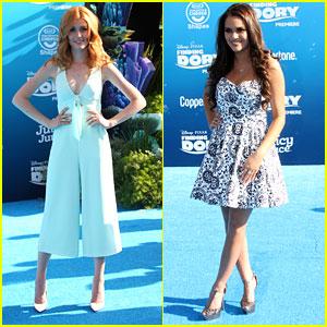 Katherine McNamara & Madison Pettis Swim Into The 'Finding Dory' Hollywood Premiere