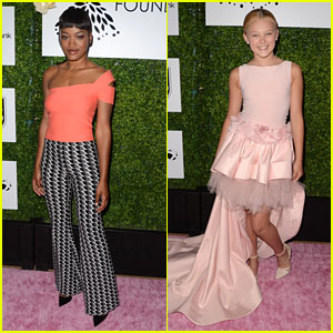 Keke Palmer & Jojo Siwa Step Out For Ladylike Foundation Fundraiser