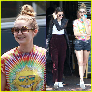 Gigi Hadid Goes Out for Giggly Girls' Day With Kendall Jenner