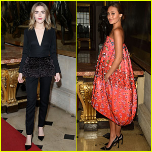 Kiernan Shipka & Ella Purnell Glam Up for Dior Cruise Show