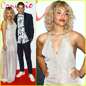 Kiersey Clemons Brings Boyfriend DJ James To Convivo 2016 in Milan