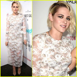 Kristen Stewart Gets Glam for the Thirst Gala