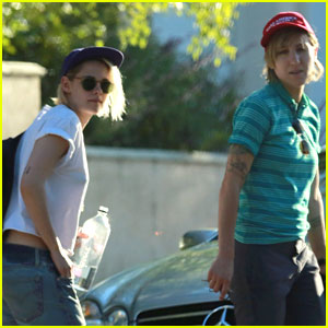 Kristen Stewart Steps Out on Father's Day with Girlfriend Alicia Cargile