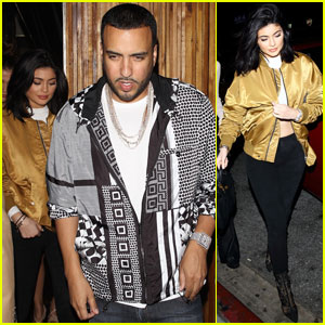 Kylie Jenner Parties With French Montana