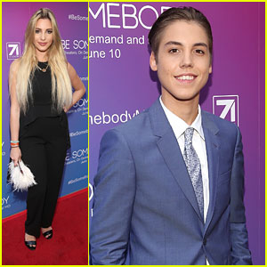 Lele Pons Supports Matthew Espinosa at 'Be Somebody' Premiere