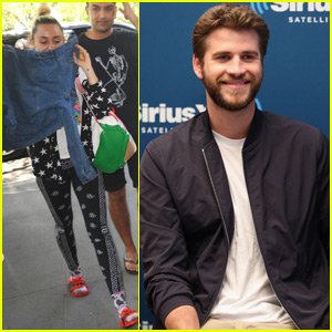 Liam Hemsworth & Miley Cyrus Get to Work in NYC After Date Night