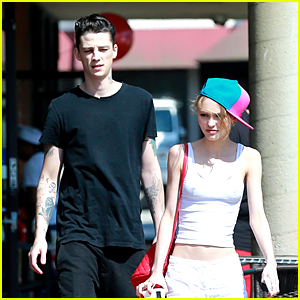 Lily-Rose Depp & Ash Stymest Grab Lunch Together